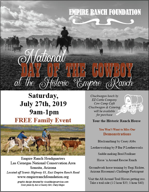 2019 National Day of the Cowboy at Empire Ranch