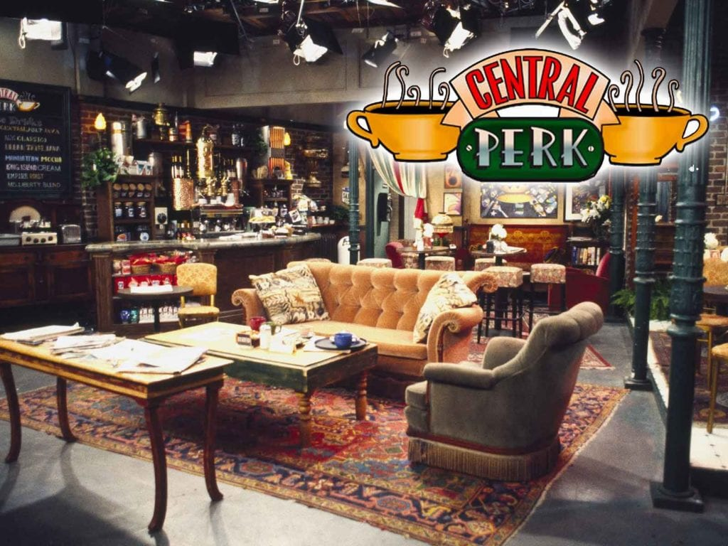 "Photo of the inside of ""Friends"" Central Perk Coffee shop"