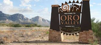 Welcome sign to Oro Valley