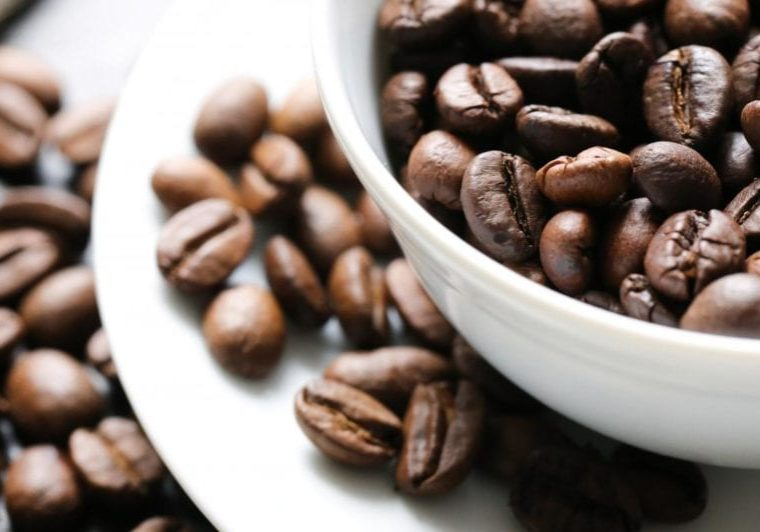 Getty Images of coffee beans and coffee cup